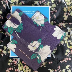 Passport holder and luggage tag.